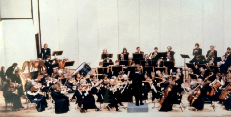 Fort Worth Civic Orchestra in 1980