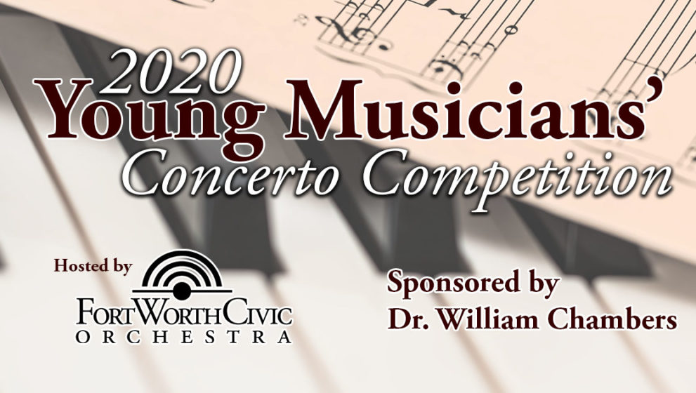 Entries Open for 2020 Young Musician's Concerto Competition